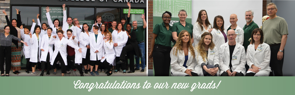 Congratulations to our new grads
